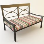 aluminium garden furniture co 05 3d model - Garden Furniture 3d Model