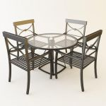 aluminium garden furniture co 10 3d model