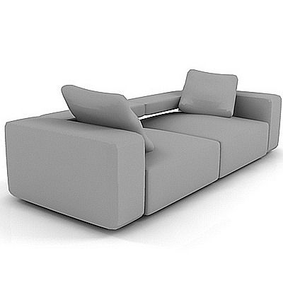 sofa 3d model b b italia andy. Black Bedroom Furniture Sets. Home Design Ideas