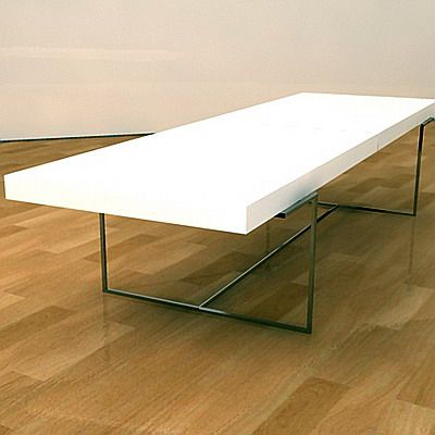 Cad symbol table white b b italia 3d model athos 1 - B b italia athos dining table ...