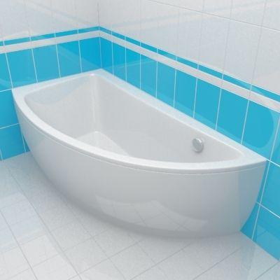 Bath 3d model cersanit nano 150 r for Small baths 1400