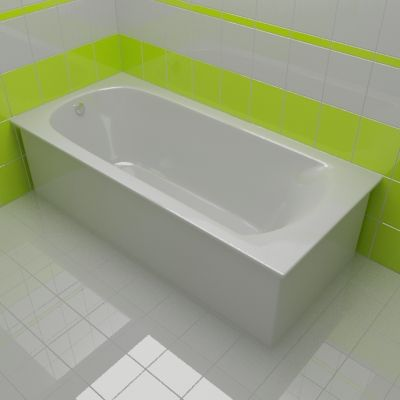 Bath 3d-model RIHO MIAMI 70x150x43