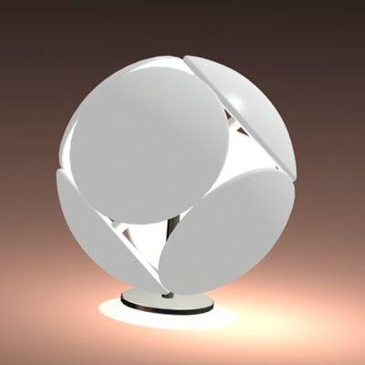 Italian Contemporary Style Desk Lamp 3DS Foscarini Bubble Tavolo Design Inspirations