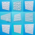 Decorative wall panel ArtPole (60 objects)