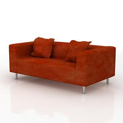 Modern Sofa 3d Model Ikea Klippan Series 002