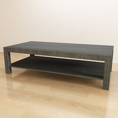 Coffee Table IKEA Sweden CAD 3D Model Stmbol LACK 1