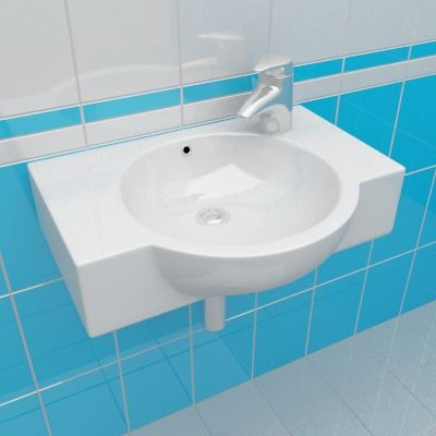 Sink 3d Model Cersanit NANO 50