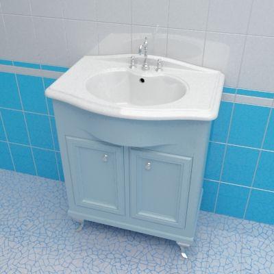 Sink cabinet 3d-model Caprigo Porto 70 Lb