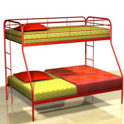 Bed 3D - model
