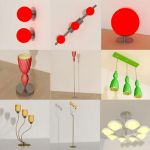3D - model Lamps (70 objects)