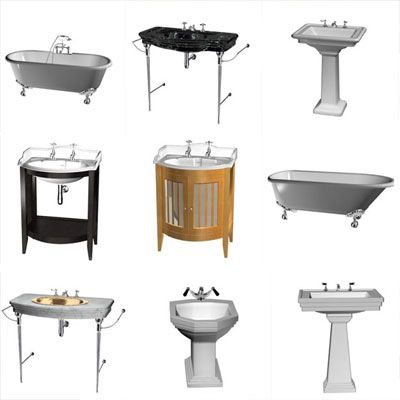 3D - model Items for bathroom (70 objects)