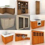 3D - model Kitchen Italy 2 (70 objects)