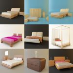 3D - model Bedrooms (50 objects)
