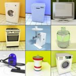 3D - model Household Devices 2