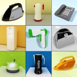 3D - model Household Devices 3